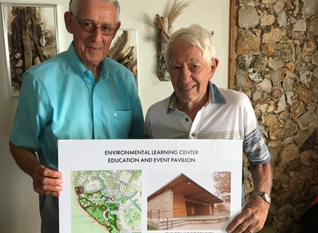 Donor Pledges $1M Gift toward new Education & Event Pavilion at the ELC