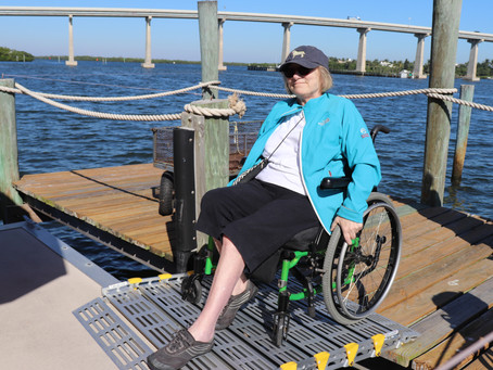 ELC Pontoon Boat Now Wheelchair Accessible