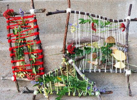 Nature Weaving: Leaves, Twigs, Feathers & Fronds