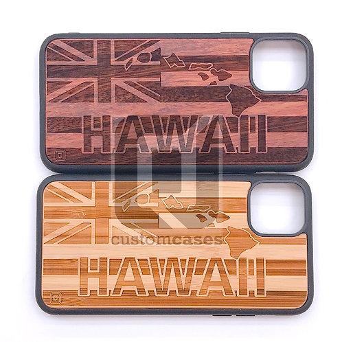 CJ Hawaiian Flag Wood