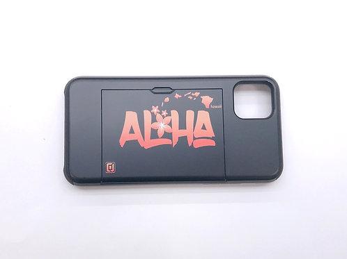 CJ Aloha Plumeria Orange Card