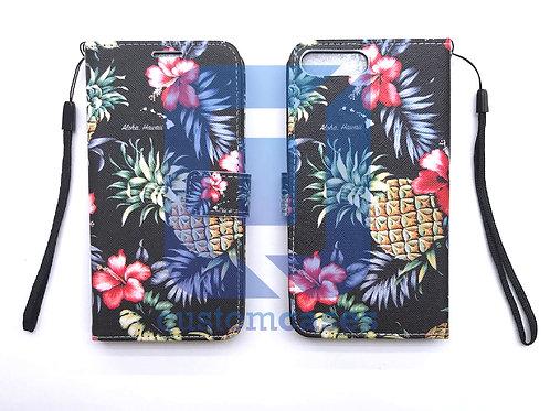 Hibiscus Pineapple Wallet