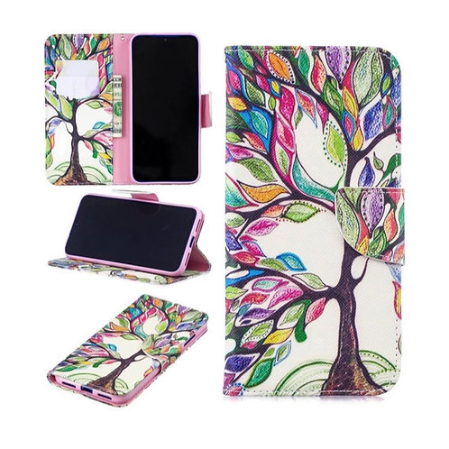 Colorful Tree Wallet