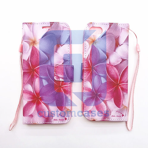 Plumeria Pink Wallet