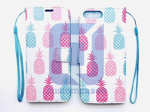 Pineapple White Wallet