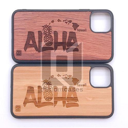 CJ Aloha Pineapple Wood