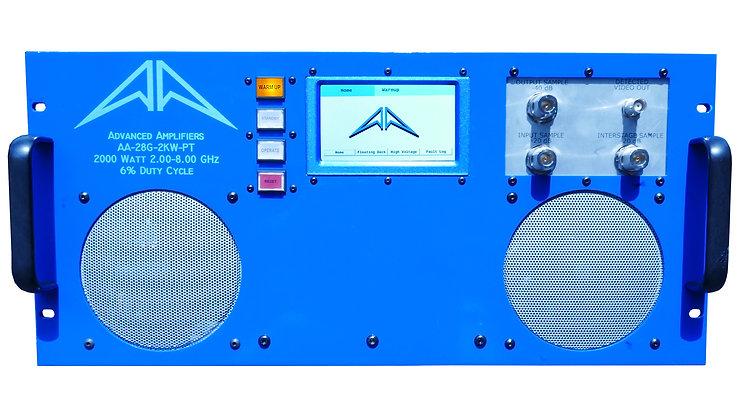 AA-28G-2KW-PT TWT Pulse Amplifier