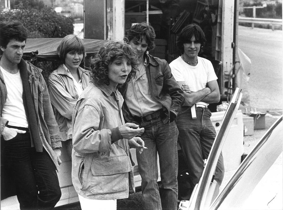 Diane en compagnie des acteurs, François Cluzet, Elise Caron, Philippe Lebas