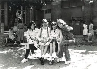 Diane Kurys et les actrices principales du film - Éléonor Klarwein, Odile Michel et Coralie Clément
