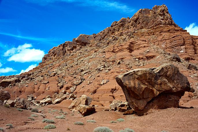 Vermilion Boulders