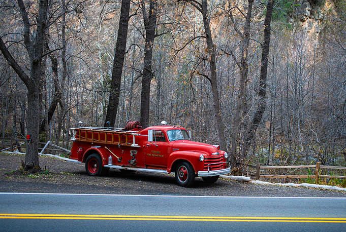 Little Red Firetruck