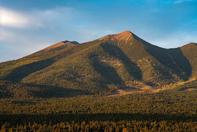 Agassiz Peak at sunset