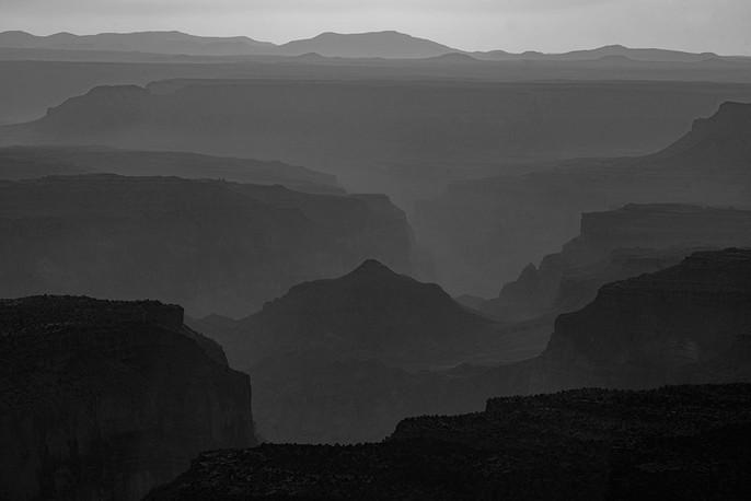 Atmospheric Light - Grand Canyon