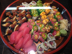 sushi catering.