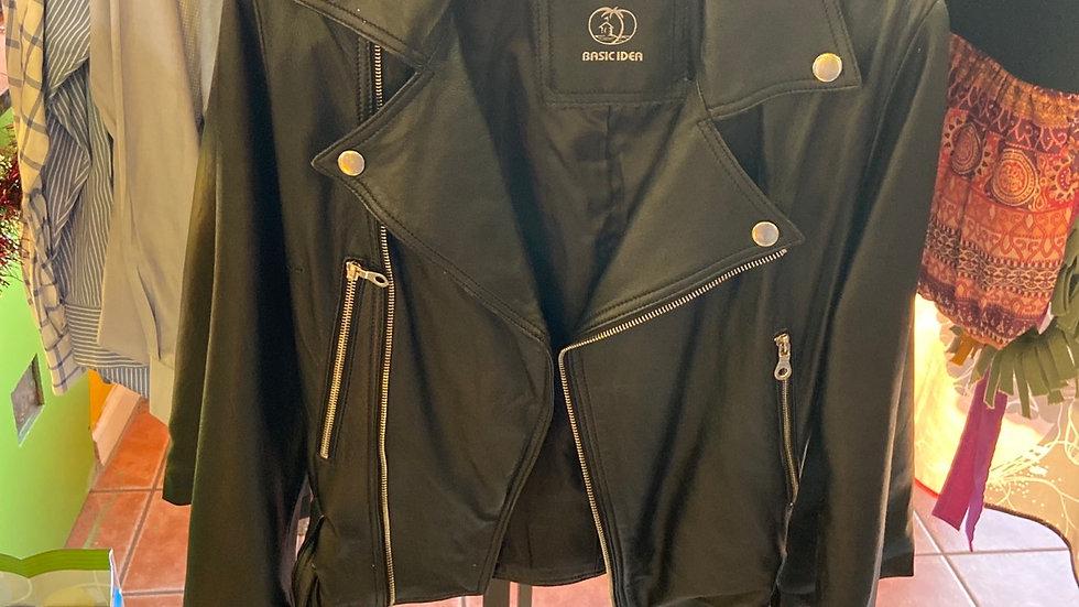IBTU Genuine Leather Jacket