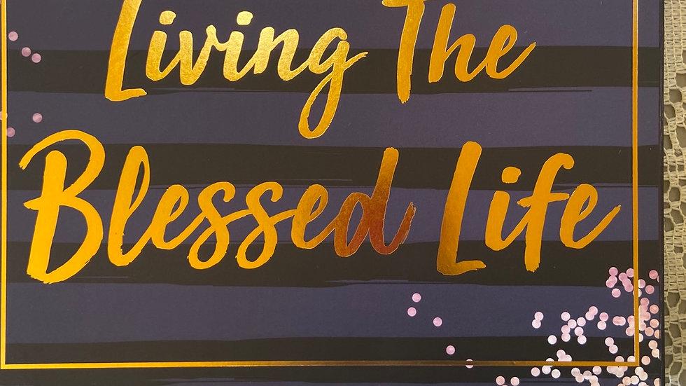 IBTU Living the Blessed Life Plaque