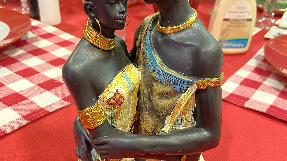IBTU Husband & Wife African Art