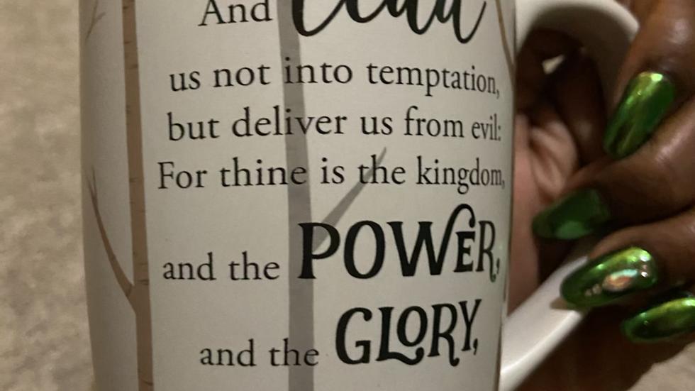 IBTU Lords Prayer Latte Cup