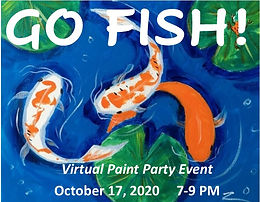 GO FISH! Virtual Paint Party
