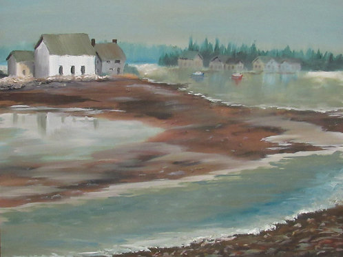Aric Bryant, Low Tide in Winter