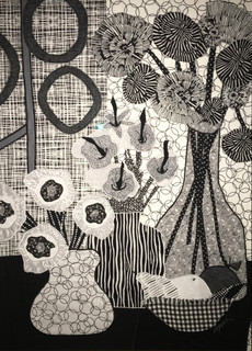 Sarah Bolduc (NC), Flowers, Fruits, and Circled Wallpaper