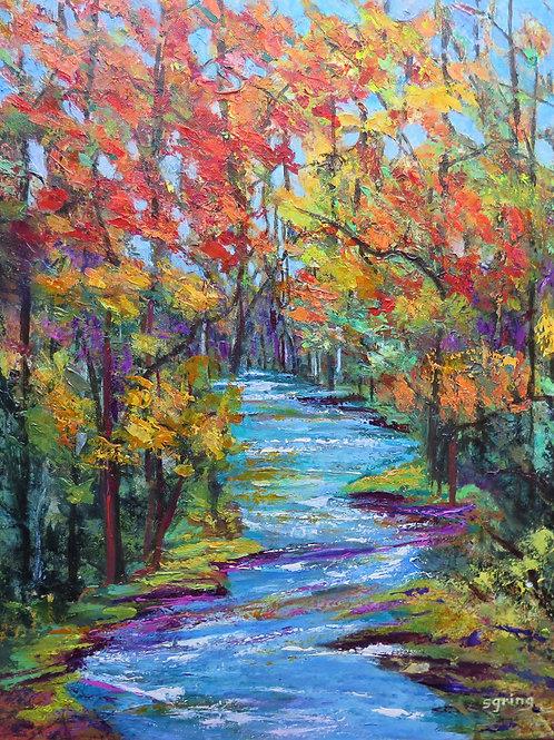 Susan Gring, A Burst of Autumn