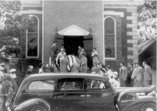Sgt. Frank Draper's Funeral 1948