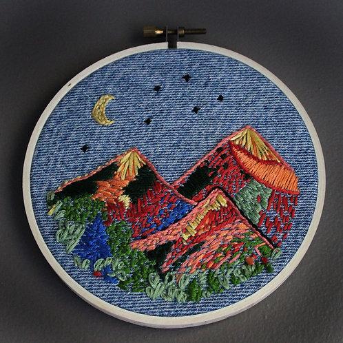 Erin Plum, Moonlit Mountains