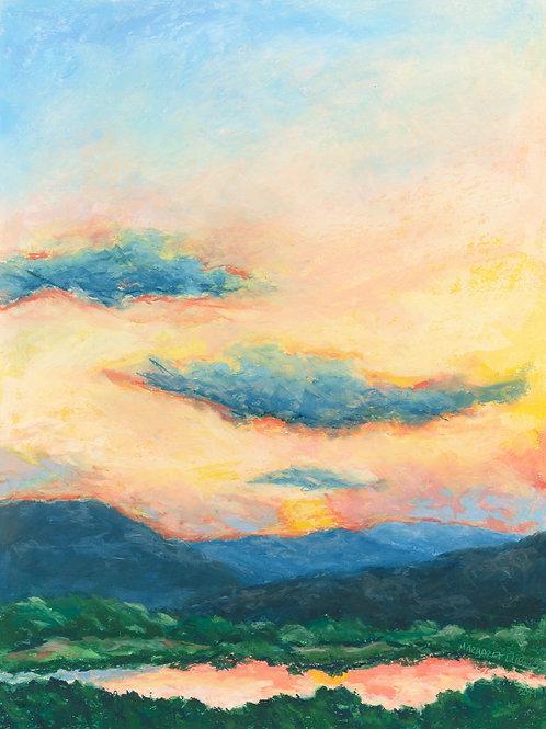 Margaret DuBois, Solitude Sunset