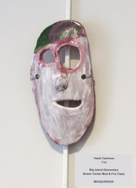Hazel Cashman, Clay Mask