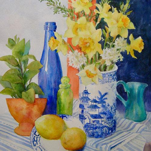 Revelle Hamilton, Lemons and Daffodils