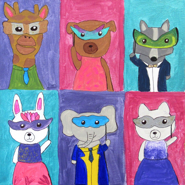 Zoey Malony, Animal Masquerade