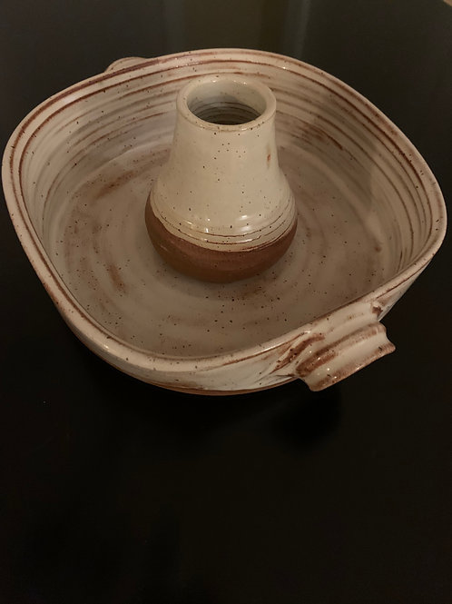 Sally Carter, Baking Dish with Chicken Tube