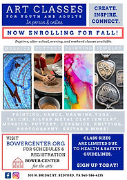 Fall Semester Art Classes