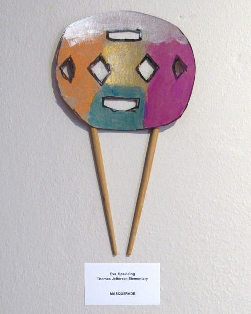 Eva Spaulding, Mask