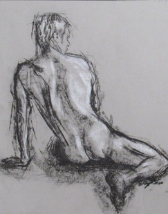 Aric Bryant, Make Figure Study from Back