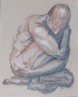 Aric Bryant, Male Figure Study