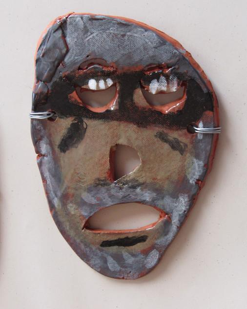 Anderly Blackford, Clay Mask