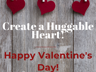 Create a Huggable Heart for your Valentine!