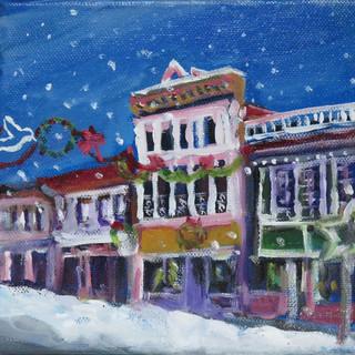 Anna Wentworth, Christmas on Bridge St, 2019 Winter Gift