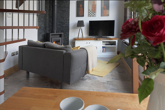 The Barn Living area