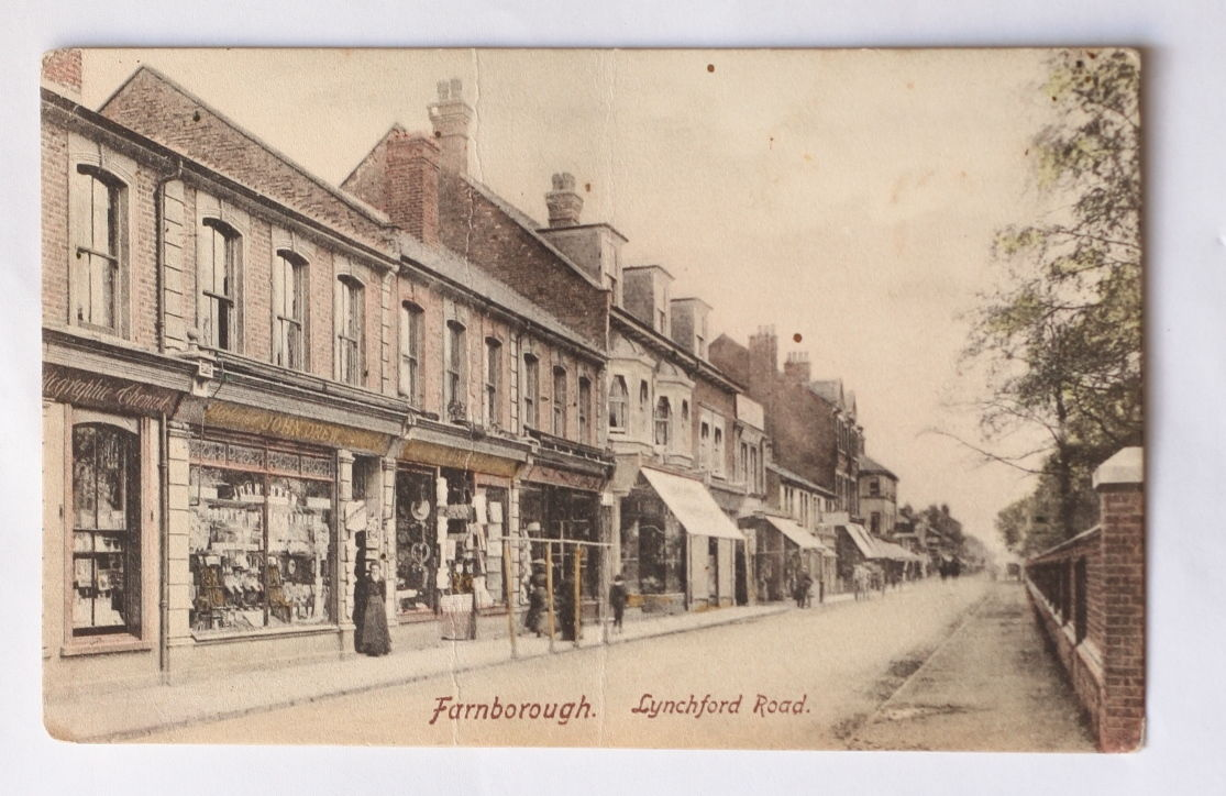 Lynchford Road Farnborough
