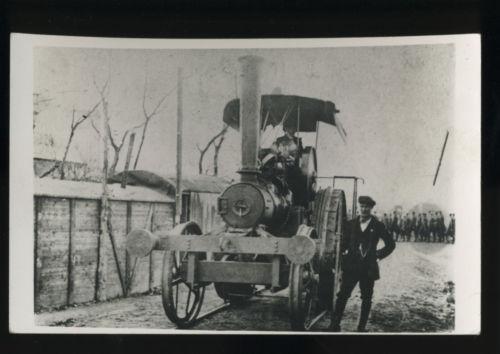 A RAE steamroller