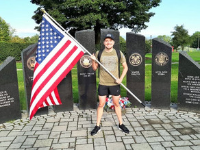 Army Veteran Marching From Enfield To New London For 'Kabul 13'