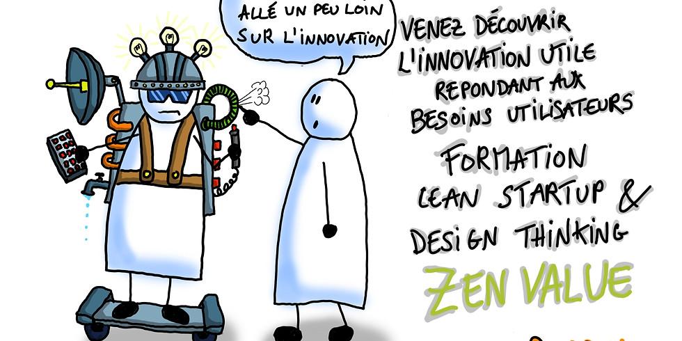 Innovation: Lean Startup & Design Thinking (2 jours)