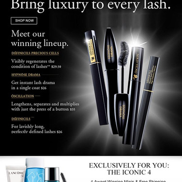 Lancome Email