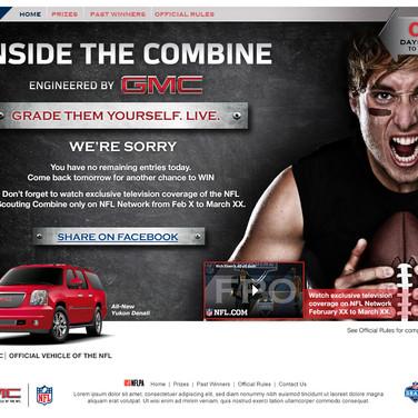 Landing Page - GMC/NFL