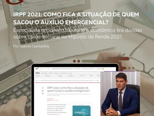 IRPF 2021: como fica a situação de quem sacou o auxílio emergencial?