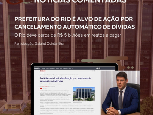 Prefeitura do Rio é alvo de ação por cancelamento automático de dívidas