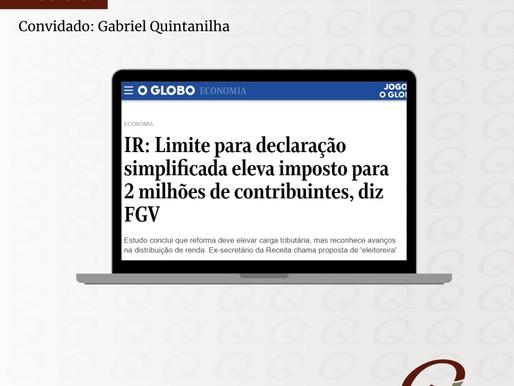 IR: Limite para declaração simplificada eleva imposto para 2 milhões de contribuintes, diz FGV